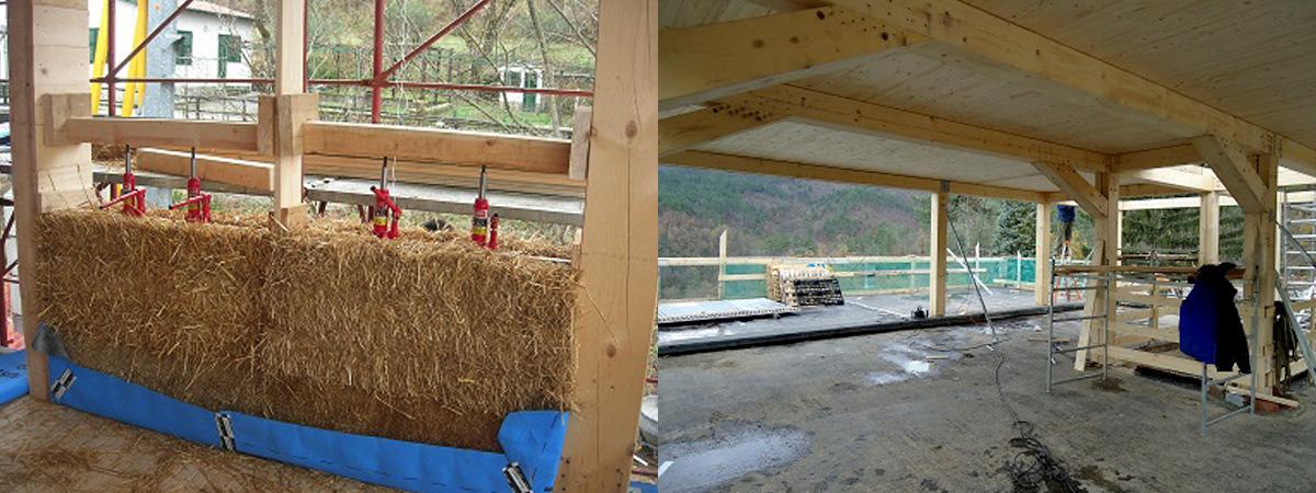 Agriturismo il filo di paglia come fare una casa di paglia - Costruire una casa in paglia ...